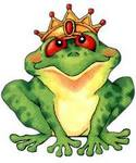 frog prince characterture