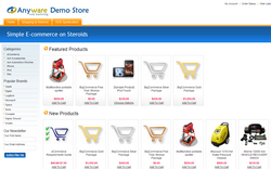 Anyware eCommerce demo store