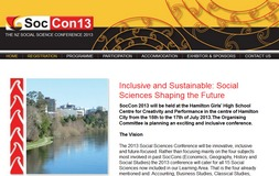 soccon 2013 website homepage image