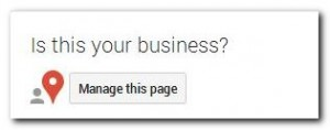 Google generated Google+ page